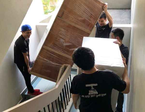 Singapore House Movers Team